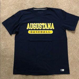 Augustana College Vikings Baseball Tshirt Large